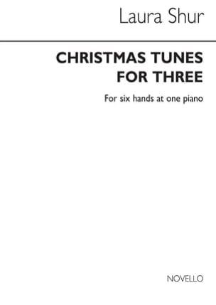 Christmas Tunes For 3. 6 Mains Laura Shur Partition laflutedepan