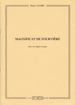 Magnificat de Fourvière Roger Calmel Partition Chœur - laflutedepan