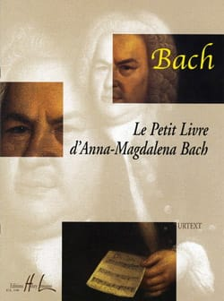 BACH - Anna Magdalena Bach's Little Book - Partition - di-arezzo.co.uk