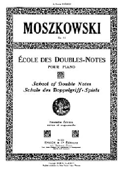Ecole des Doubles Notes Opus 64 Moritz Moszkowski laflutedepan