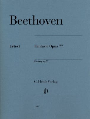 Fantaisie op. 77 BEETHOVEN Partition Piano - laflutedepan