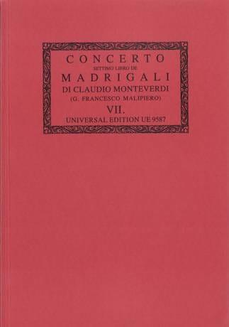Concerto. il Settimo Libro de Madrigali A 1, 2, 3, 4, E 6 Voci 1619 - laflutedepan.com