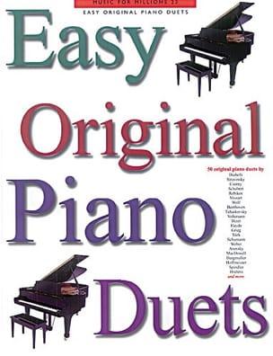 Easy Original Piano Duets Partition Piano - laflutedepan
