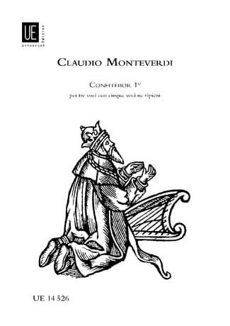 Confitebor 1 - MONTEVERDI - Partition - Chœur - laflutedepan.com