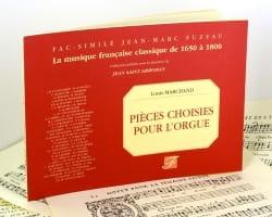 Pièces Choisies Pour Orgue Louis Marchand Partition laflutedepan