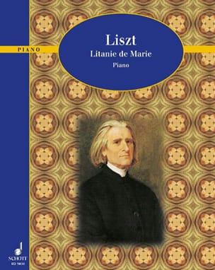 Litanie De Marie - LISZT - Partition - Piano - laflutedepan.com