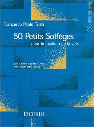 50 Petits Solfèges + 2 CD Francesco Paolo Tosti Partition laflutedepan