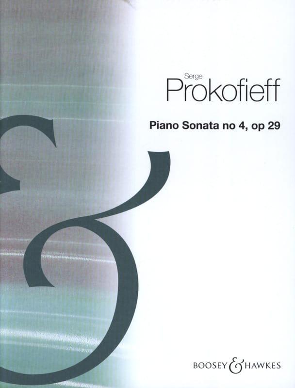 Sonate pour piano n° 4 Opus 29 - PROKOFIEV - laflutedepan.com