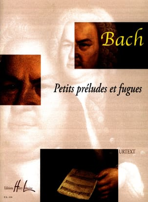 BACH - Little Preludes and Fugues - Partition - di-arezzo.co.uk