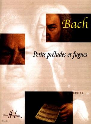 BACH - Petits Préludes et Fugues - Partition - di-arezzo.fr
