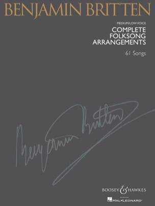Benjamin Britten - Complete Folksongs Arrangements. Deep voice - Partition - di-arezzo.com