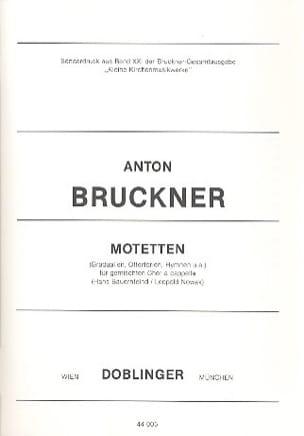 Anton Brückner - Motetten. - Partition - di-arezzo.com