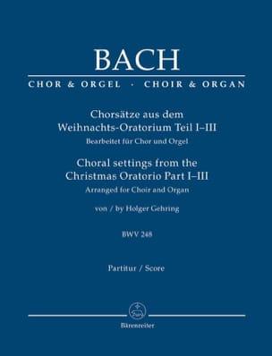 Chorsätze Aus Dem Weihnachts-Oratorium BWV 248, Part. 1-3 laflutedepan