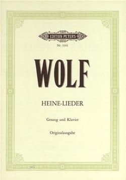 Hugo Wolf - Heinrich-Heine-Lieder - Partition - di-arezzo.com