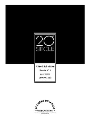 Sonate pour piano n° 1 SCHNITTKE Partition Piano - laflutedepan