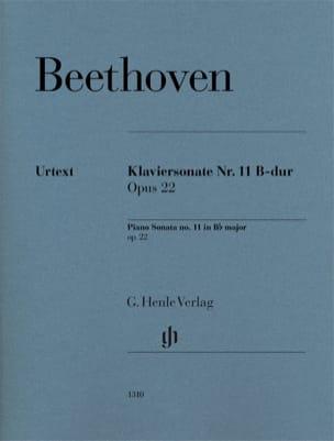 Sonate Pour Piano n° 11 en Si bémol Majeur Op. 22 laflutedepan