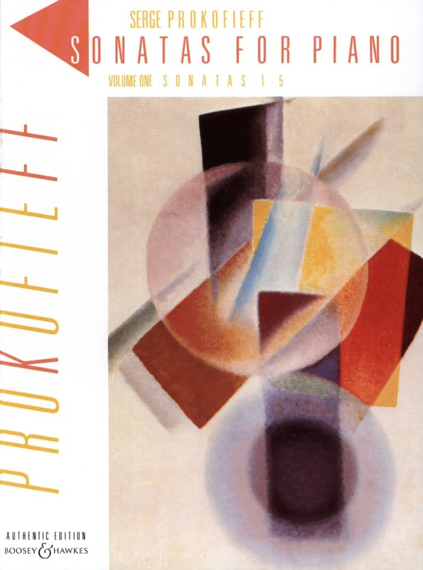 Sonates pour piano. Volume 1 - PROKOFIEV - laflutedepan.com