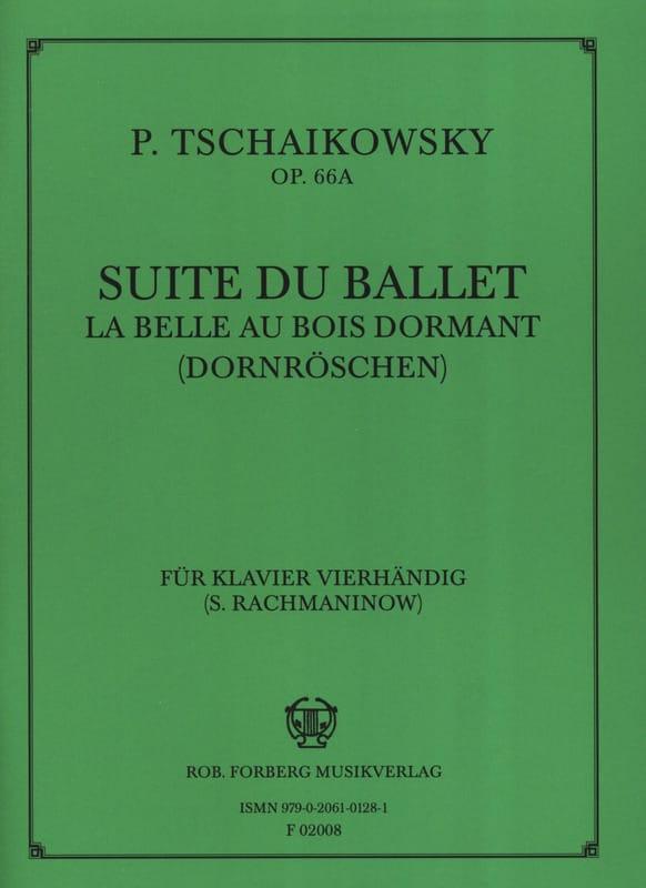 Suite Du Ballet la Belle Au Bois Dormant. Opus 66a. 4 Mains - laflutedepan.com