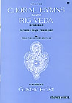 Choral Hymns From The Rig Veda. 2° Groupe HOLST Partition laflutedepan