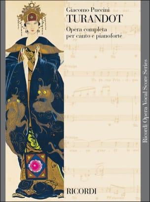 Giacomo Puccini - Turandot. New edition - Partition - di-arezzo.co.uk
