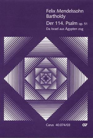 Psaume 114 Da Israel Aus Agypten Zog Op. 51 - laflutedepan.com