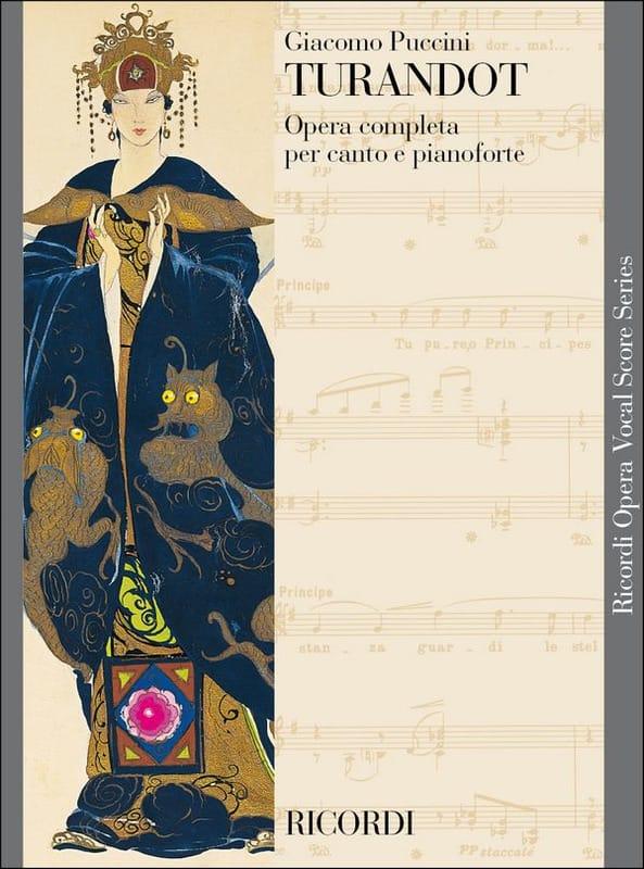 Turandot. Nouvelle Edition - PUCCINI - Partition - laflutedepan.com