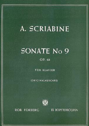 Sonate Pour Piano n° 9 Opus 68 - SCRIABINE - laflutedepan.com