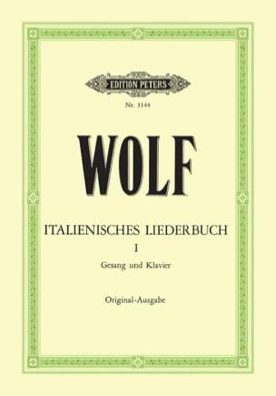 Italienisches Liederbuch Volume 1 Hugo Wolf Partition laflutedepan