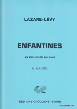 Enfantines Volume 1 Opus 30 Lazare-Lévy Partition Piano - laflutedepan