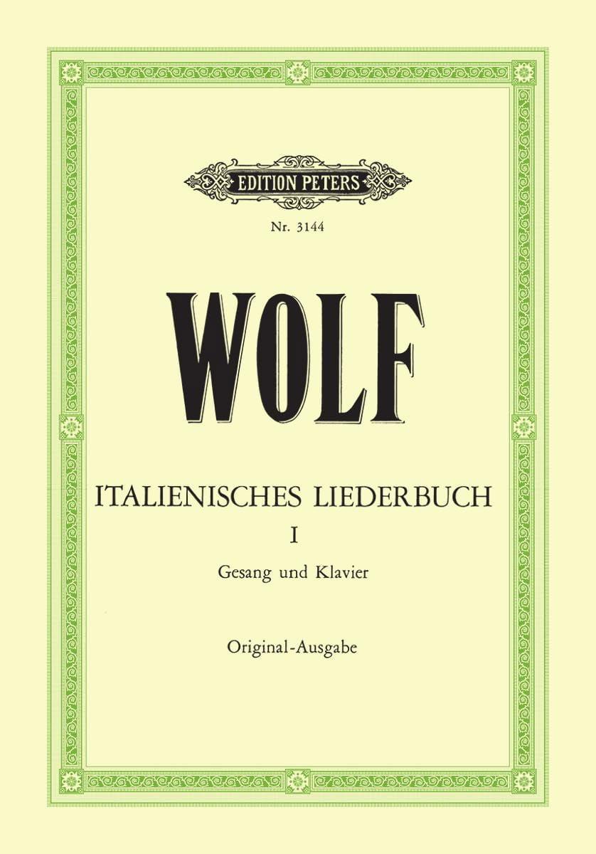 Italienisches Liederbuch Volume 1 - Hugo Wolf - laflutedepan.com