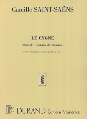 Le Cygne. Piano SAINT-SAËNS Partition Piano - laflutedepan