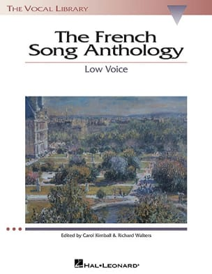 The French Song Anthology. Deep voice - Partition - di-arezzo.co.uk