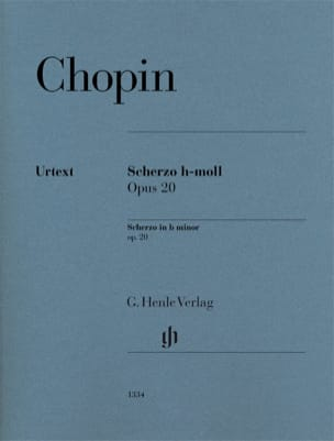 Scherzo en si mineur op. 20 CHOPIN Partition Piano - laflutedepan