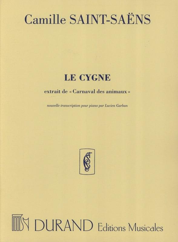 Le Cygne. Piano - SAINT-SAËNS - Partition - Piano - laflutedepan.com