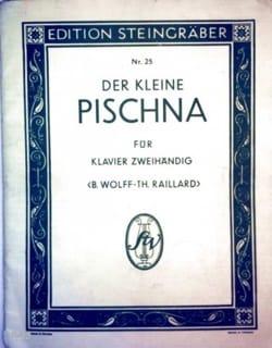 Der kleine pischna Johann Pischna Partition Piano - laflutedepan