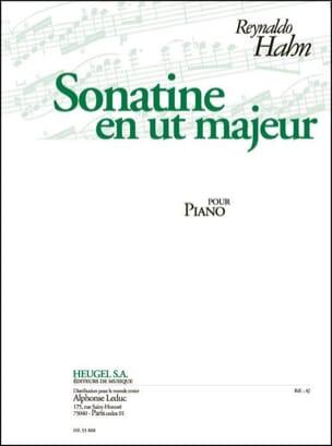 Sonatine En Ut Majeur Reynaldo Hahn Partition Piano - laflutedepan