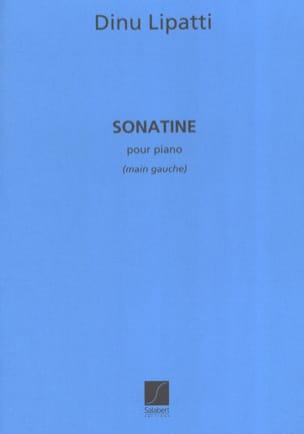 Sonatine Pour Piano Main Gauche Dinu Lipatti Partition laflutedepan