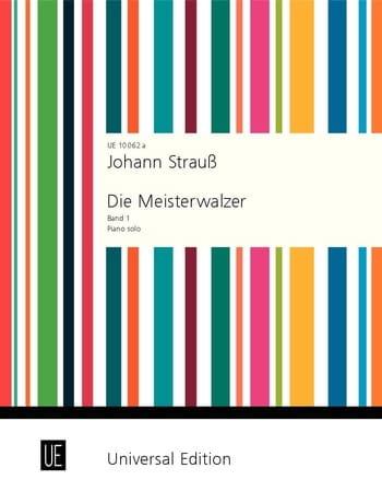 Die Meisterwalzer. Volume 1 - Johann fils Strauss - laflutedepan.com