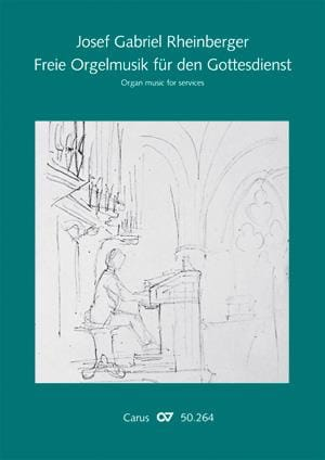 Freie Orgelmusik Fur Den Gottesdienst - RHEINBERGER - laflutedepan.com