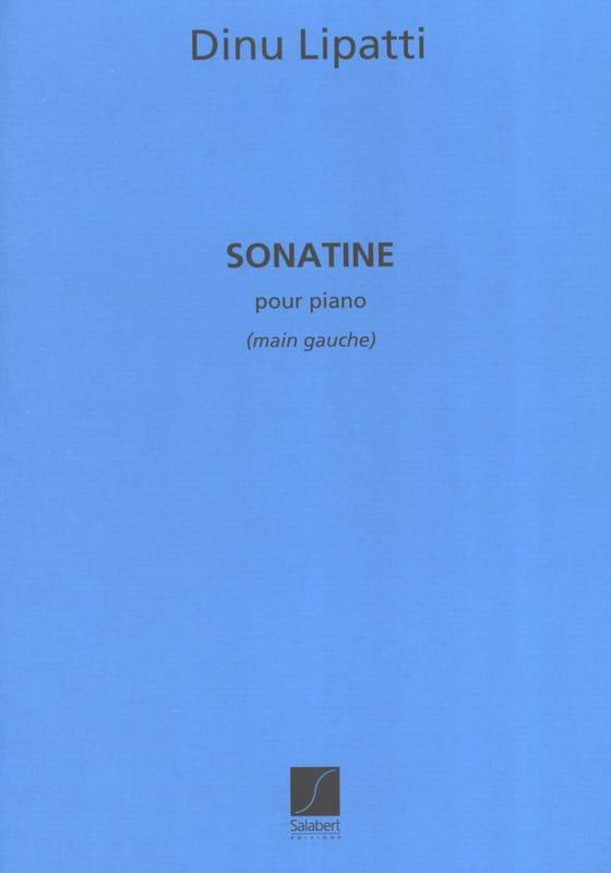 Sonatine Pour Piano Main Gauche - Dinu Lipatti - laflutedepan.com