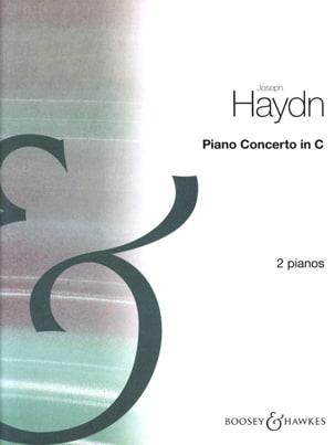 Concerto En Ut Majeur HAYDN Partition Piano - laflutedepan