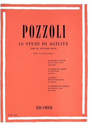 16 Studi Di Agilita Per le Piccole Mani Ettore Pozzoli laflutedepan