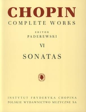 Sonates CHOPIN Partition Piano - laflutedepan