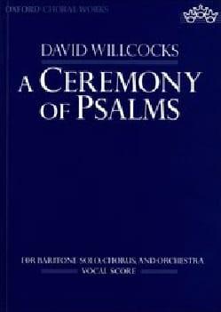 Ceremony of psalms - David Willcocks - Partition - laflutedepan.com