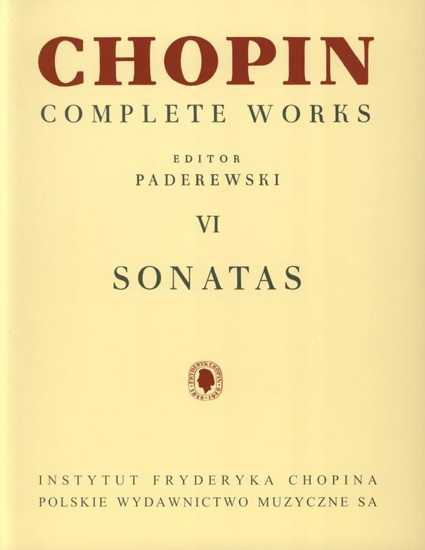 Sonates - CHOPIN - Partition - Piano - laflutedepan.com