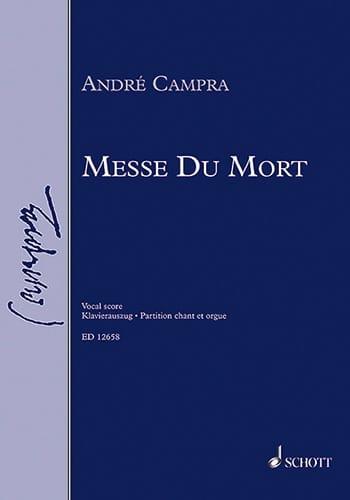 Messe des Morts - CAMPRA - Partition - Chœur - laflutedepan.com