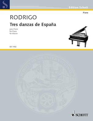 3 Danzas de España 1941 RODRIGO Partition Piano - laflutedepan