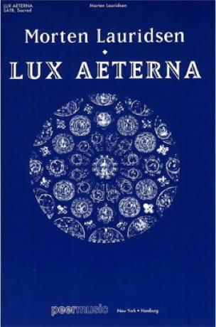Lux Aeterna - Morten Lauridsen - Partition - Chœur - laflutedepan.com