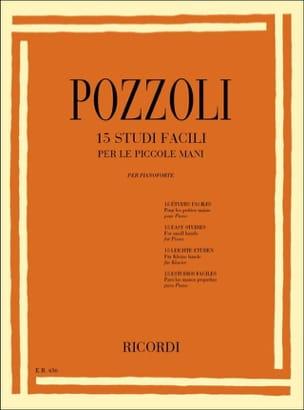 15 Studi Facili Per le Piccole Mani Ettore Pozzoli laflutedepan