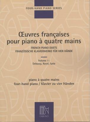 Oeuvres Françaises Pour Piano 4 Mains Volume 1 laflutedepan